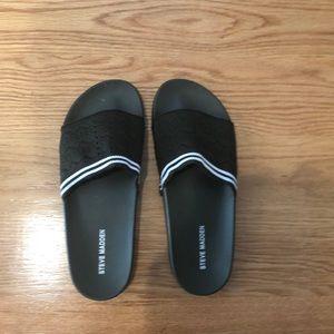 Steve madden slides never worn